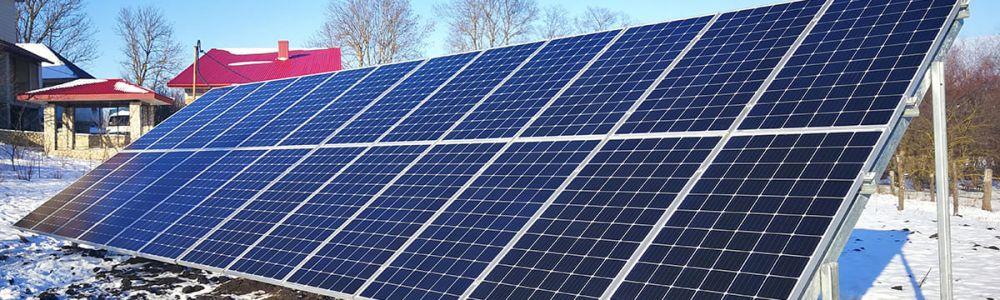 Будівництво сонячних електростанцій під зелений тариф | ЕКОДІМ